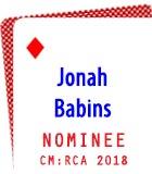 2018 Nominee: Jonah Babins