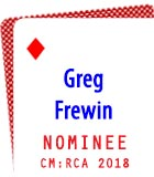 2018 Nominee: Greg Frewin