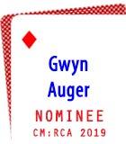 2019 Nominee: Gwyn Auger