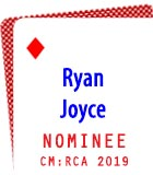 2019 Nominee: Ryan Joyce