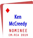 2019 Nominee: Ken McCreedy