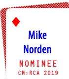 2019 Nominee: Mike Norden