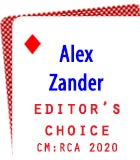 2020 Editor's Choice: Alex Zander