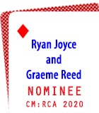 2020 Nominee: Ryan Joyce and Graeme Reed