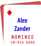 2020 Nominee: Alex Zander