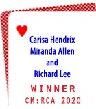 2020 Readers' Choice: Carisa Hendrix, Miranda Allen, and Richard Lee